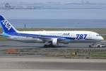 kando-yamaさんが、羽田空港で撮影した全日空 787-8 Dreamlinerの航空フォト(写真)
