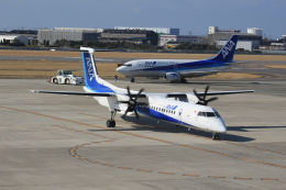 Semirapidさんが、松山空港で撮影したANAウイングス DHC-8-402Q Dash 8の航空フォト(写真)