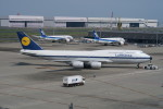 職業旅人さんが、羽田空港で撮影したルフトハンザドイツ航空 747-830の航空フォト(写真)