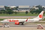 安芸あすかさんが、ドンムアン空港で撮影したタイ・ライオン・エア 737-8GPの航空フォト(写真)