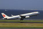 non-nonさんが、羽田空港で撮影した中国国際航空 A330-343Xの航空フォト(写真)