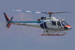 まんぼ しりうすさんが、小松空港で撮影した中日本航空 AS350B Ecureuilの航空フォト(写真)