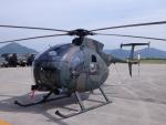 まさ75さんが、防府北基地で撮影した陸上自衛隊 OH-6Dの航空フォト(写真)
