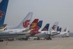 TAOTAOさんが、青島流亭国際空港で撮影した中国国際航空 737-86Nの航空フォト(写真)