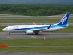 51ANさんが、新千歳空港で撮影した全日空 737-881の航空フォト(写真)