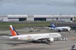 シャークレットさんが、羽田空港で撮影したフィリピン航空 777-36N/ERの航空フォト(写真)