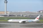 シャークレットさんが、羽田空港で撮影した日本航空 777-346/ERの航空フォト(写真)