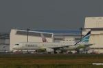 よしポンさんが、成田国際空港で撮影したエアプサン A321-131の航空フォト(写真)