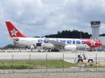 せせらぎさんが、静岡空港で撮影したエーデルワイス航空 A330-243の航空フォト(写真)