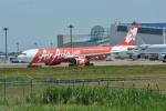 シュウさんが、成田国際空港で撮影したインドネシア・エアアジア・エックス A330-343Xの航空フォト(写真)