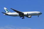 ★azusa★さんが、シンガポール・チャンギ国際空港で撮影したキャセイパシフィック航空 777-267の航空フォト(写真)