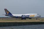 ジェットジャンボさんが、岩国空港で撮影したアトラス航空 747-446の航空フォト(写真)