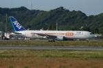 ふるぴーさんが、松山空港で撮影した全日空 767-381/ERの航空フォト(写真)