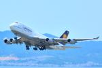 shining star ✈さんが、関西国際空港で撮影したルフトハンザドイツ航空 747-430の航空フォト(写真)