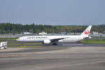 turenoアカクロさんが、成田国際空港で撮影した日本航空 777-346/ERの航空フォト(写真)