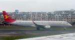 coolinsjpさんが、大連周水子国際空港で撮影した天津航空 ERJ-190-200 LR (ERJ-195LR)の航空フォト(写真)