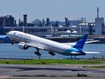 tsubasa0423さんが、羽田空港で撮影したガルーダ・インドネシア航空 777-3U3/ERの航空フォト(写真)