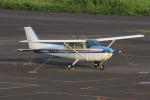 ぽんさんが、岡南飛行場で撮影した日本個人所有 172P Skyhawk IIの航空フォト(写真)
