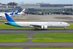PASSENGERさんが、羽田空港で撮影したガルーダ・インドネシア航空 777-3U3/ERの航空フォト(写真)