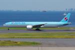 PASSENGERさんが、羽田空港で撮影した大韓航空 777-3B5の航空フォト(写真)