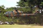 りんたろうさんが、古河駐屯地で撮影した陸上自衛隊 AH-1Sの航空フォト(写真)