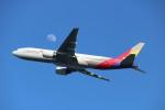 水月さんが、関西国際空港で撮影したアシアナ航空 777-28E/ERの航空フォト(写真)