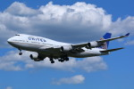 AokaiE531さんが、成田国際空港で撮影したユナイテッド航空 747-422の航空フォト(写真)