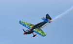 czuleさんが、幕張の浜(一般エリア)で撮影したエアクラフト・ギャランティ (AGC) Edge 540 V3の航空フォト(写真)