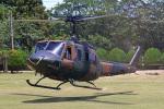 りんたろうさんが、古河駐屯地で撮影した陸上自衛隊 UH-1Jの航空フォト(写真)