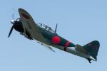 YAMMARさんが、龍ヶ崎飛行場で撮影したゼロエンタープライズ Zero 22/A6M3の航空フォト(写真)
