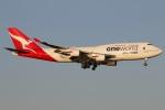 たみぃさんが、羽田空港で撮影したカンタス航空 747-438/ERの航空フォト(写真)
