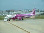 yanaさんが、福岡空港で撮影したピーチ A320-214の航空フォト(写真)