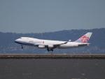 職業旅人さんが、サンフランシスコ国際空港で撮影したチャイナエアライン 747-409F/SCDの航空フォト(写真)