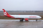 安芸あすかさんが、ベルリン・テーゲル空港で撮影したエア・ベルリン A330-223の航空フォト(写真)