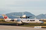 JA22HPさんが、出雲空港で撮影したジェイ・エア CL-600-2B19 Regional Jet CRJ-200ERの航空フォト(写真)