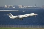 VIPERさんが、羽田空港で撮影したウェルズ・ファーゴ・バンク・ノースウェスト C-37B Gulfstream G550 (G-V-SP)の航空フォト(写真)