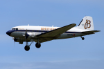 YAMMARさんが、仙台空港で撮影したスーパーコンステレーション飛行協会 DC-3Aの航空フォト(写真)