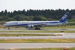 いっとくさんが、成田国際空港で撮影した全日空 777-381/ERの航空フォト(写真)