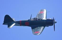 がいなやつさんが、海浜幕張公園で撮影したゼロエンタープライズ Zero 22/A6M3の航空フォト(写真)