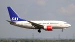 誘喜さんが、ロンドン・ヒースロー空港で撮影したスカンジナビア航空 737-683の航空フォト(写真)