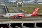 妄想竹さんが、クアラルンプール国際空港で撮影したエアアジア A320-216の航空フォト(写真)