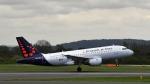 flytaka78さんが、マンチェスター空港で撮影したブリュッセル航空 A319-111の航空フォト(写真)