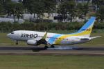 多楽さんが、仙台空港で撮影したAIR DO 737-781の航空フォト(写真)