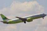 y-dynastyさんが、成田国際空港で撮影したジンエアー 737-86Nの航空フォト(写真)