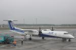 小牛田薫さんが、新千歳空港で撮影したANAウイングス DHC-8-402Q Dash 8の航空フォト(写真)