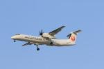 ぷぅぷぅまるさんが、伊丹空港で撮影した日本エアコミューター DHC-8-402Q Dash 8の航空フォト(写真)