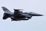 Flankerさんが、横田基地で撮影したアメリカ空軍 F-16DM-40-CF Fighting Falconの航空フォト(写真)