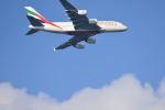 chinbariさんが、龍ヶ崎飛行場で撮影したエミレーツ航空 A380-861の航空フォト(写真)