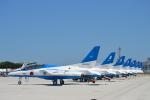 むねくんさんが、米子空港で撮影した航空自衛隊 T-4の航空フォト(写真)
