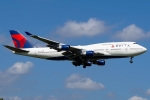 Ariesさんが、成田国際空港で撮影したデルタ航空 747-451の航空フォト(写真)